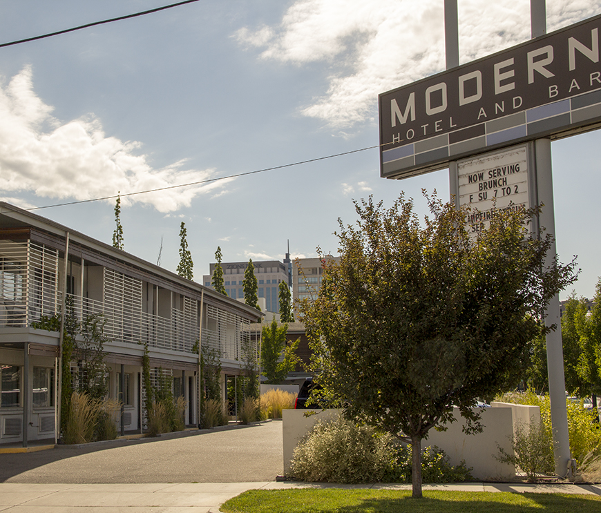 The Modern Hotel, Idaho