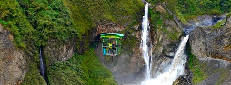 waterfalls banos
