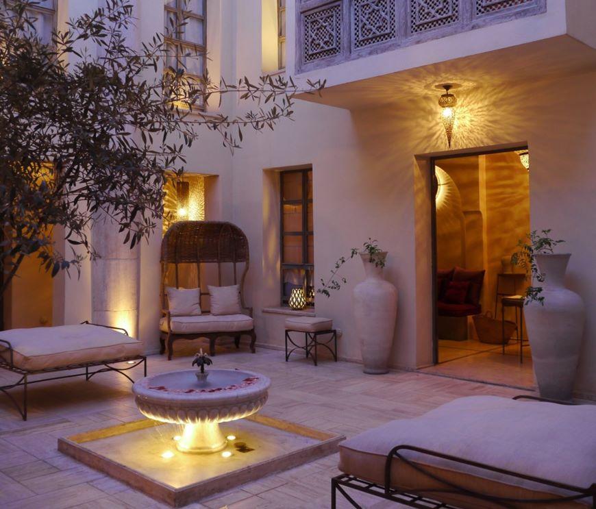 Luxury and boutique hotels riad joya marrakech medina for Luxury riad in marrakech